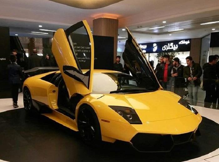 """İranın yeni """"Lamborghini""""si təqdim olundu - VİDEO+FOTOLAR"""