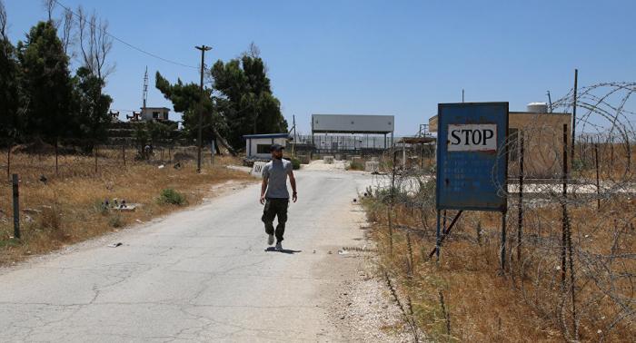 Israel y Siria reabrirán el cruce fronterizo Al Quneitra