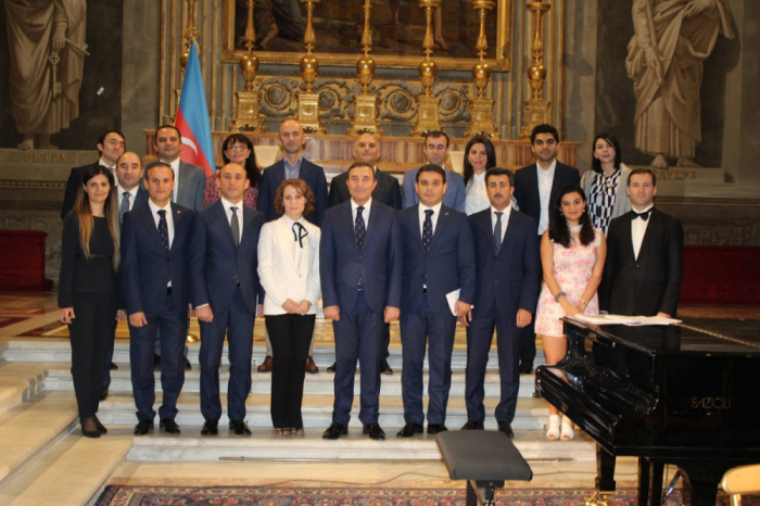 Italy's President Palace features concert of Azerbaijani music