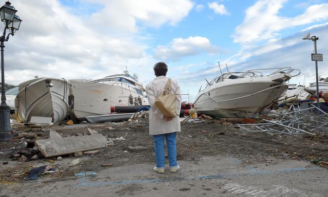 Death toll rises to nine as storms hammer Italy