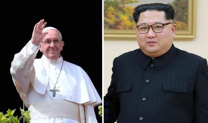 Kim Çen In Roma Papası ilə görüşmək istəyir