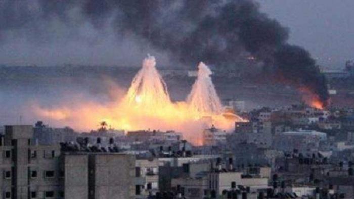 ABŞ Suriyaya qadağan olunmuş bomba atdı