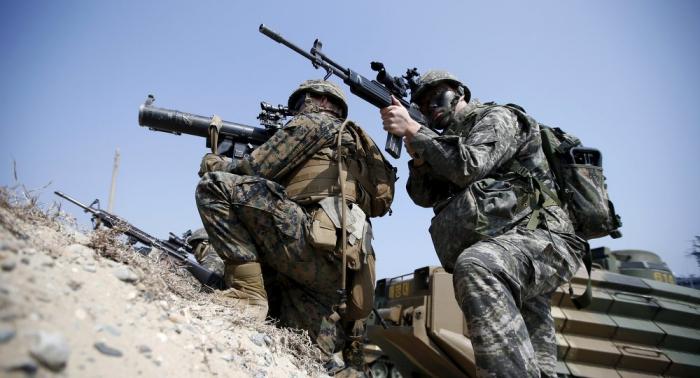 Corea del Sur quiere aumentar el número de maniobras militares con EEUU
