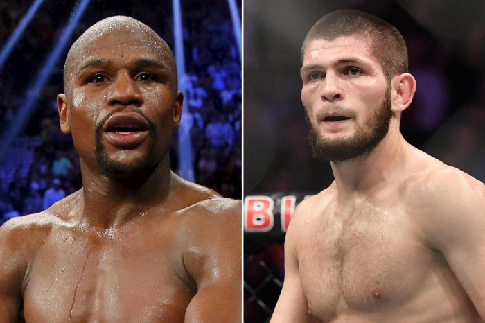Twitter electrified, baffled by possible Nurmagomedov-Mayweather matchup