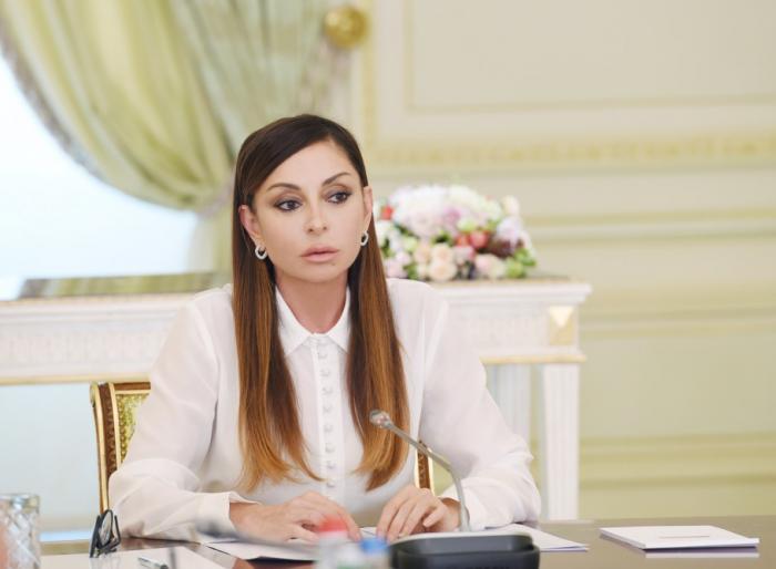 Mehriban Əliyevadan yubiley təbriki - FOTOLAR