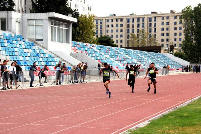 Orduda yüngül atletika üzrə yarışlar keçirilib