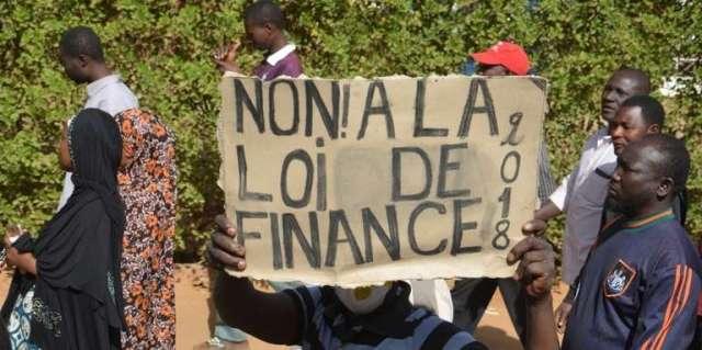 Niger: manifestation contre la loi de finances