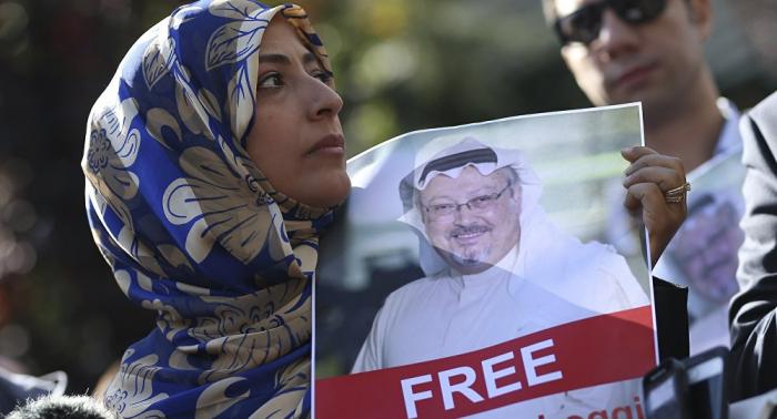 Novia de periodista saudí desaparecido aceptará invitación de Trump si presta ayuda