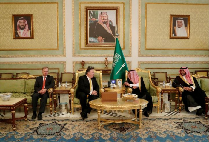 Pompeo meets King Salman about Khashoggi on Riyadh visit