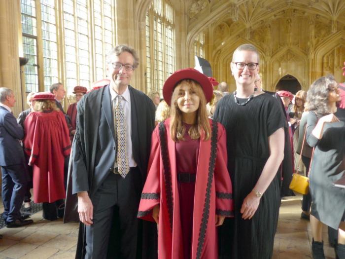 Professor Nargiz Pashayeva admitted as permanent member of University of Oxford Chancellor's Court of Benefactors