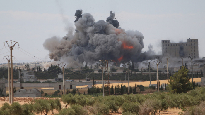 Las Fuerzas Aéreas rusas destruyeron unas 122.000 instalaciones de terroristas en Siria