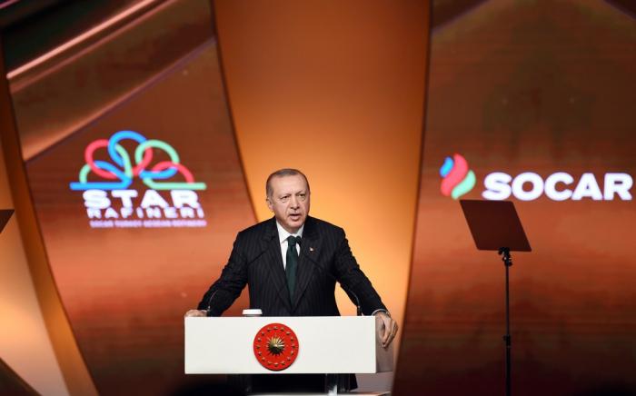 """Erdogan: """"Un pas important afin de réduire notre dépendance énergétique"""""""