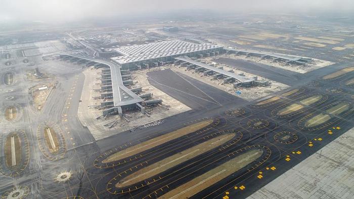 Dünyanın ən böyük aeroportu bu gün açılacaq-