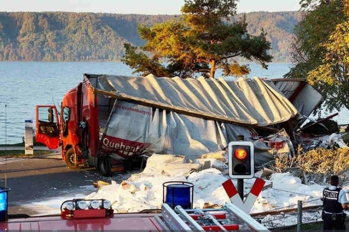 Allemagne : 11 blessés dans la collision d