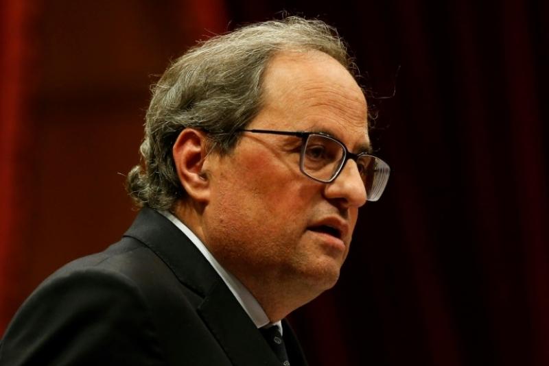 El presidente de Cataluña condiciona el apoyo a los presupuestos de Sánchez