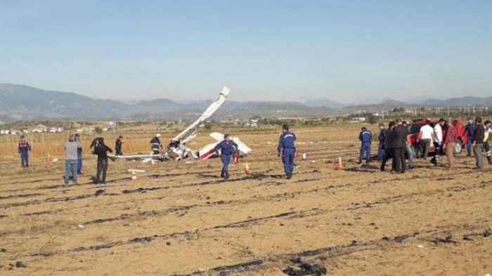 Training aircraft crashes in Turkey