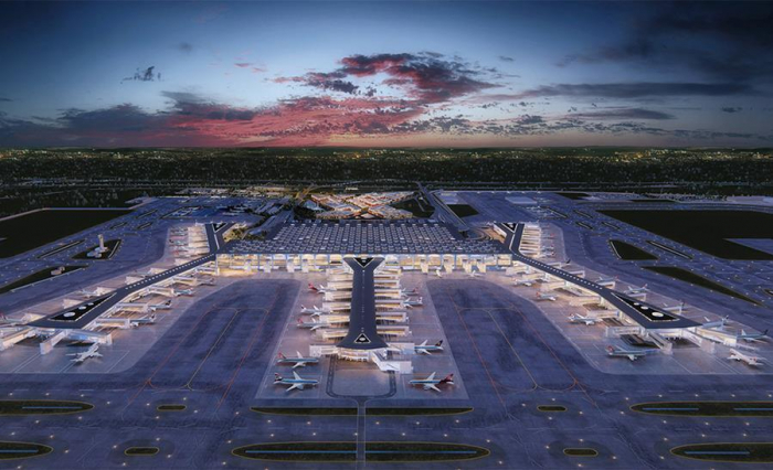 New airport opens in Istanbul