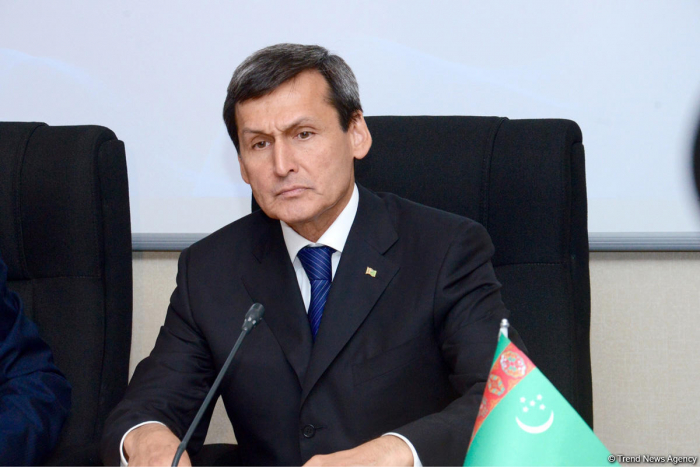 Turkmenistan's FM arrives in Azerbaijan on visit