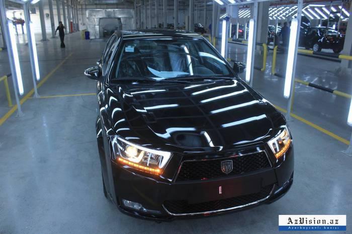 Bu il Azərbaycanda 458 avtomobil istehsal olunub