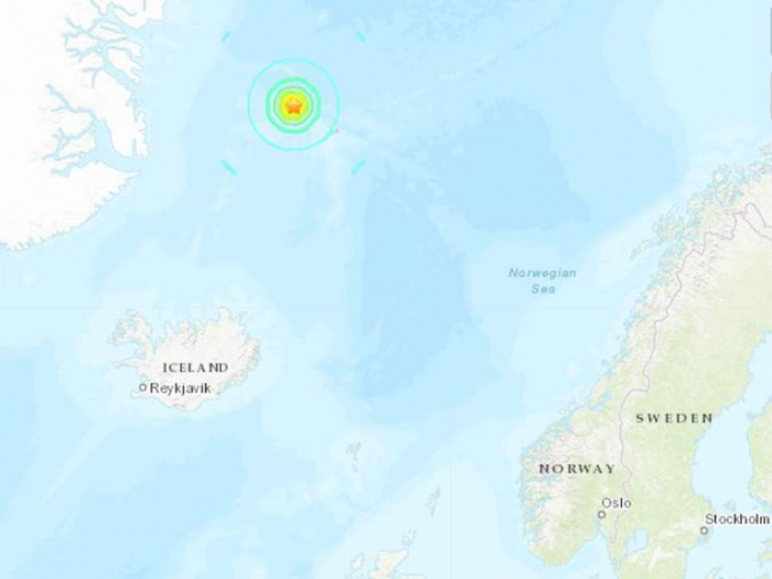 Norway earthquake: powerful 6.8-magnitude quake strikes in Arctic Sea off Jan Mayen island
