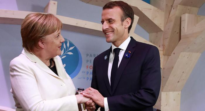 """""""ميركل زوجة ماكرون""""... سيدة فرنسية تخطئ بين المستشارة الألمانية وبريجيت (فيديو)"""