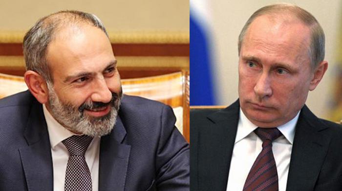 Putin Paşinyana zəng edib