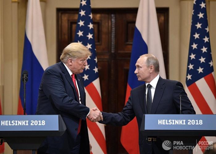"""Putin: """"Trampla görüşməyə hazıram"""""""