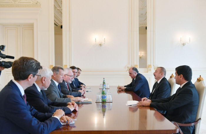 Azerbaijani President receives OSCE MG co-chairs - UPDATED