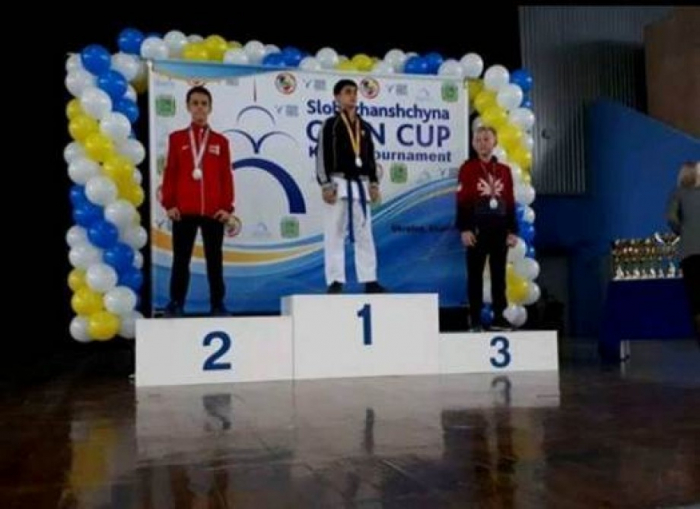 Azerbaijani karate fighters grab six medals at Ukraine tournament