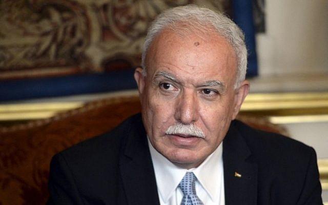 Riyad al-Maliki: Palestine shares position of Azerbaijan on Karabakh conflict