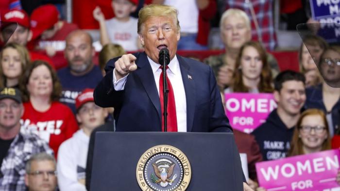 Trump beschwört Gefahr durch Demokraten