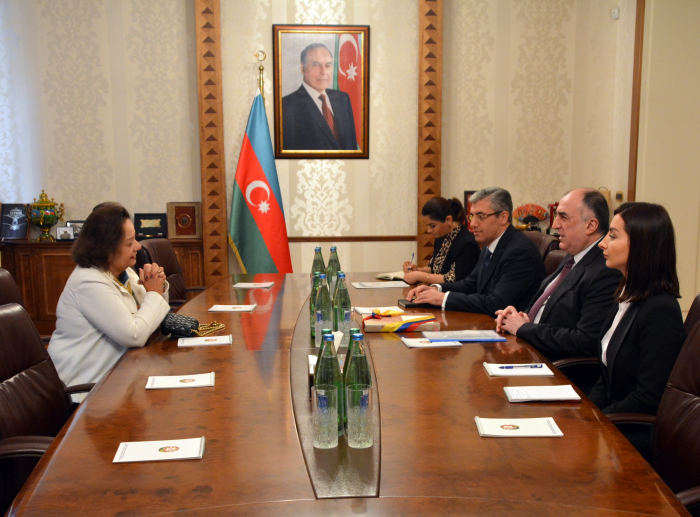 FM Mammadyarov receives outgoing Colombian diplomat