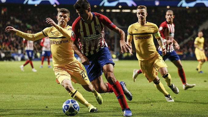 Atlético serviert BVB-Überflieger eiskalt ab