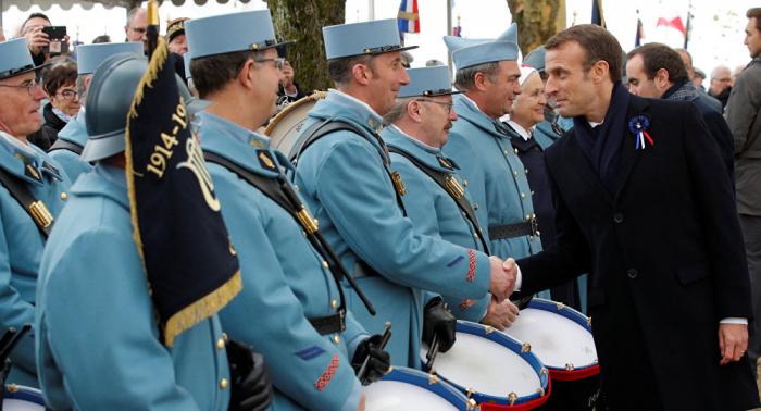 Macrons nächster Schritt: Eine EU-Armee gegen... die USA