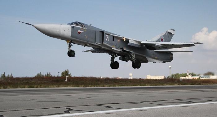 Su-24 fällt durch ungewöhnliche Bemalung auf - VIDEO