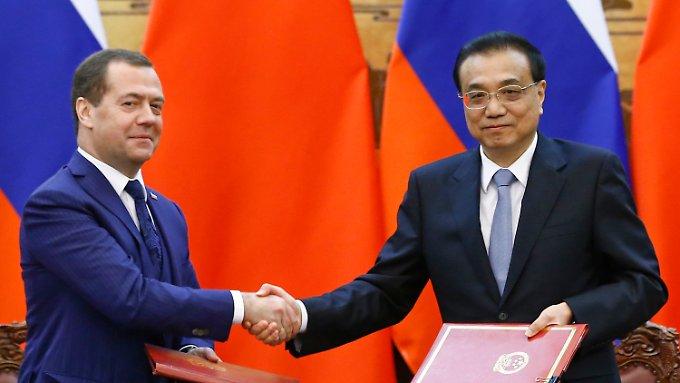 China öffnet sich für Russland