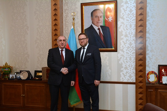 FM Mammadyarov receives Polish under secretary of state