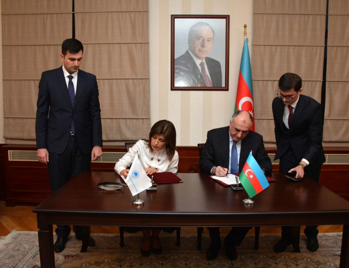 Azerbaijan, Turkic Culture and Heritage Foundation sign agreement