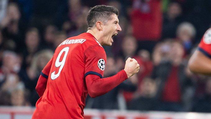 Lewandowski erlöst den FC Bayern