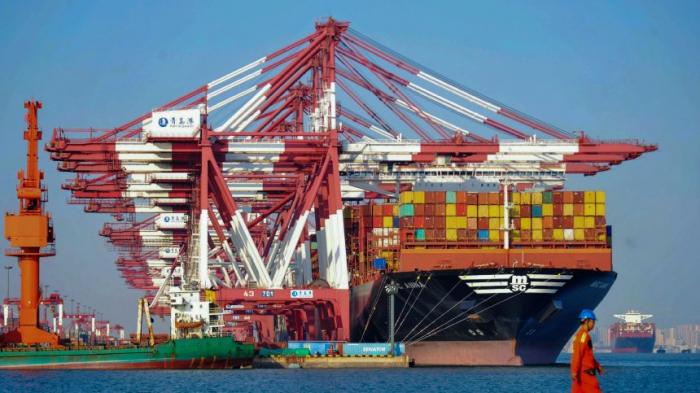 Chinas Exportekräftig gestiegen