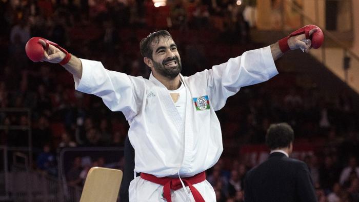 El pentacampeón del mundo Rafael Aghayev luchará por el bronce