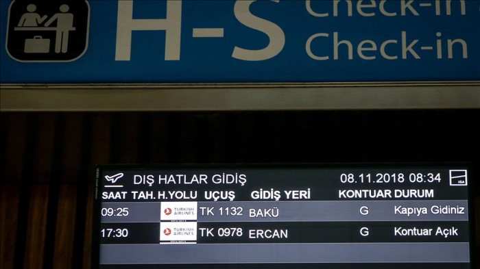 First flight departs Istanbul Airport to Azerbaijan