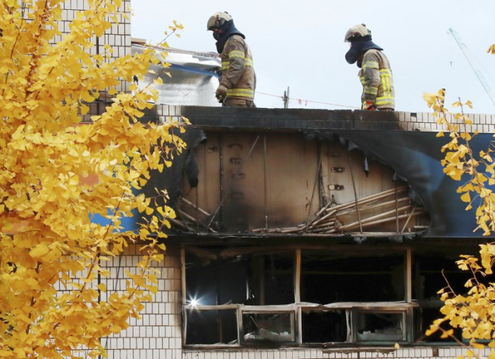 Fire kills at least 7 at dormitory-style housing in S. Korea