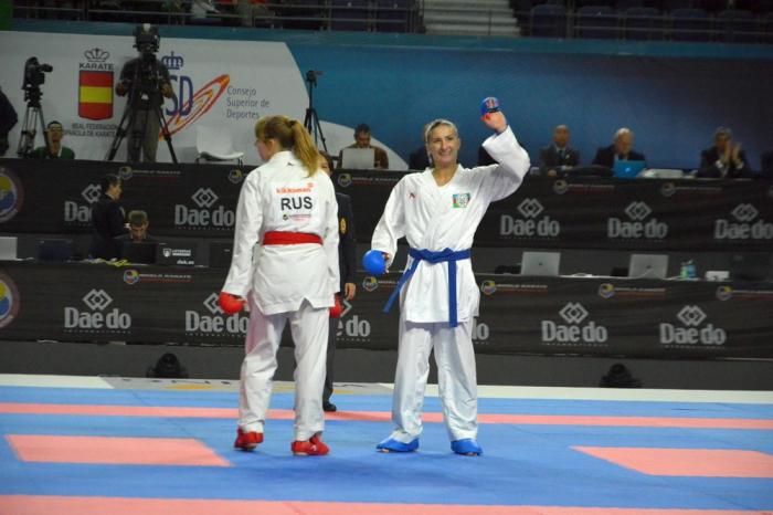 Mondiaux de karaté 2018 : Irina Zaretska sacrée championne