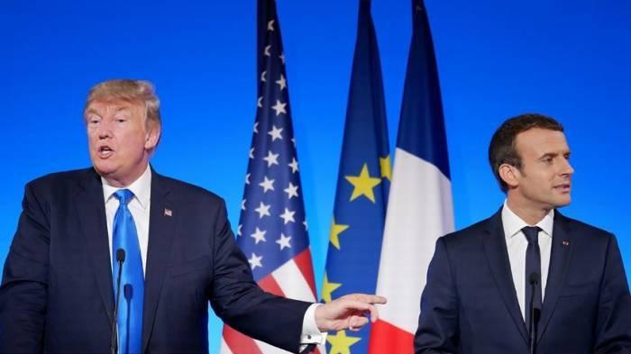 Trump rips Macron call for unified European military