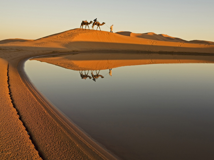 How do deserts form? -iWONDER