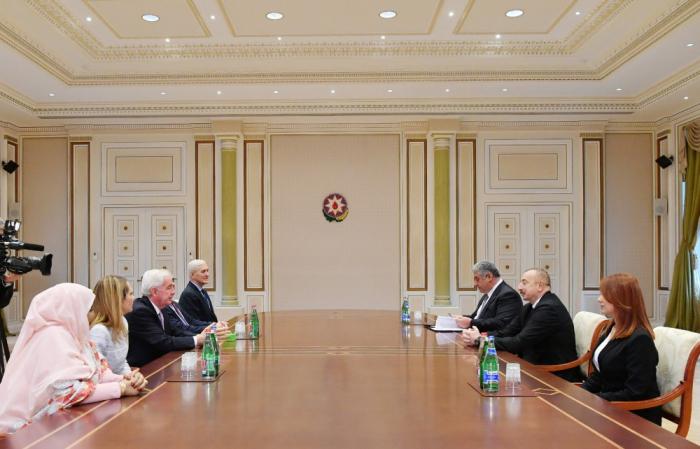 Ilham Aliyev reçoit le président de l