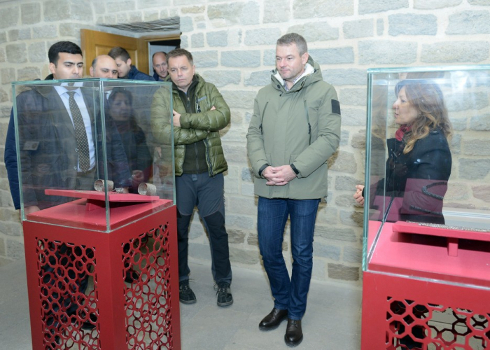 Slovak PM visitedIcherisheher in Baku - PHOTOS