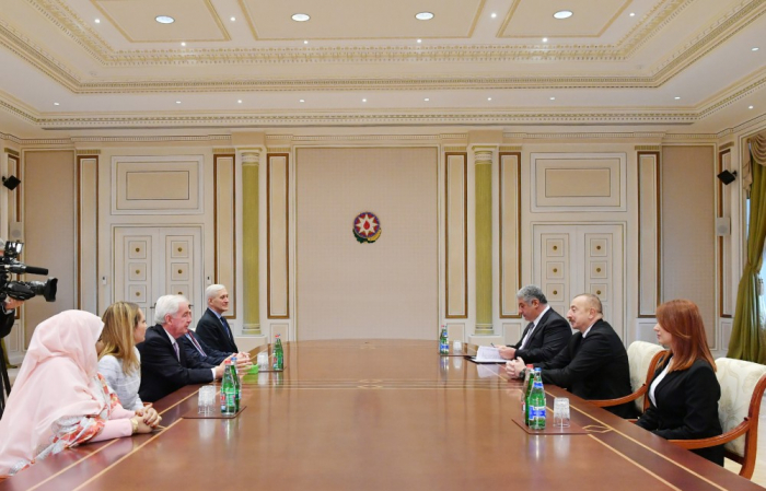 Ilham Aliyev receives delegation led by World Anti-Doping Agency president