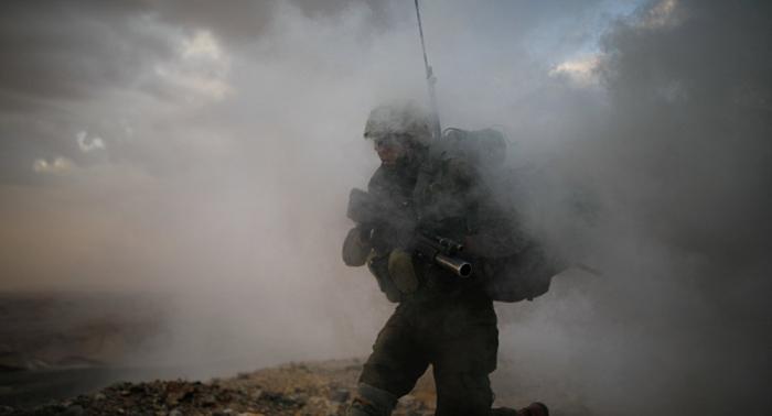 Un militar israelí muerto en intercambio de fuego en la Franja de Gaza